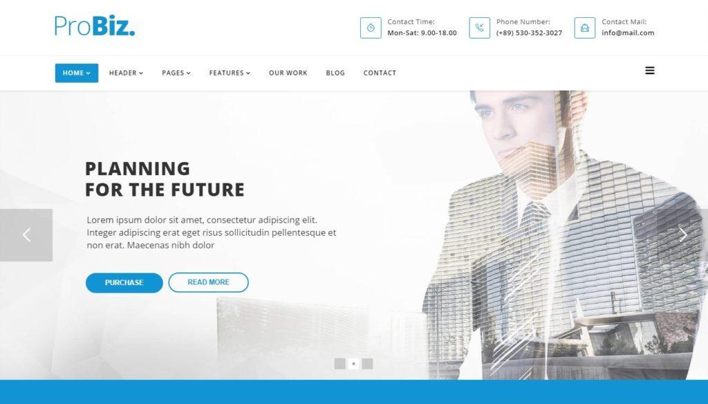 премиум шаблоны Joomla: готовый блог, бизнес-сайт, портфолио и магазин 04