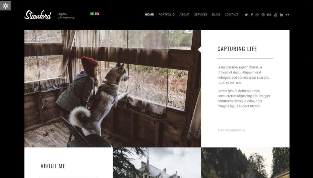премиум шаблоны Joomla: готовый блог, бизнес-сайт, портфолио и магазин 09