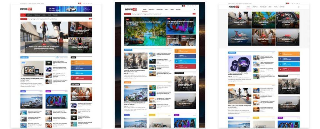 премиум шаблоны Joomla: готовый блог, бизнес-сайт, портфолио и магазин 10