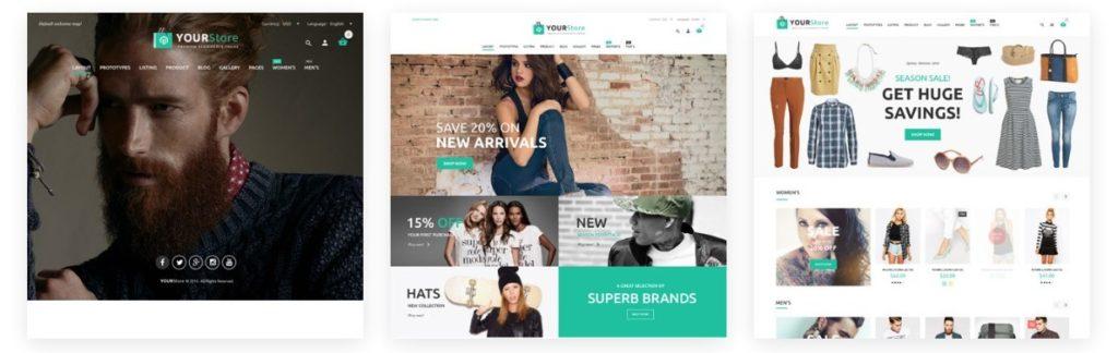 шаблоны интернет магазинов WordPress WooCommerce 2018 02