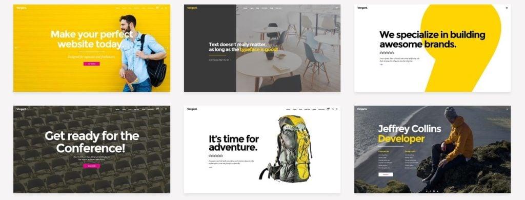 шаблон сайта для фрилансера со стильным дизайном и онлайн-оплатой 4