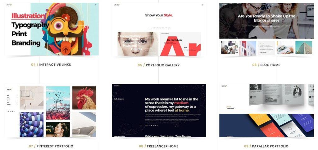 шаблон сайта для фрилансера со стильным дизайном и онлайн-оплатой 7