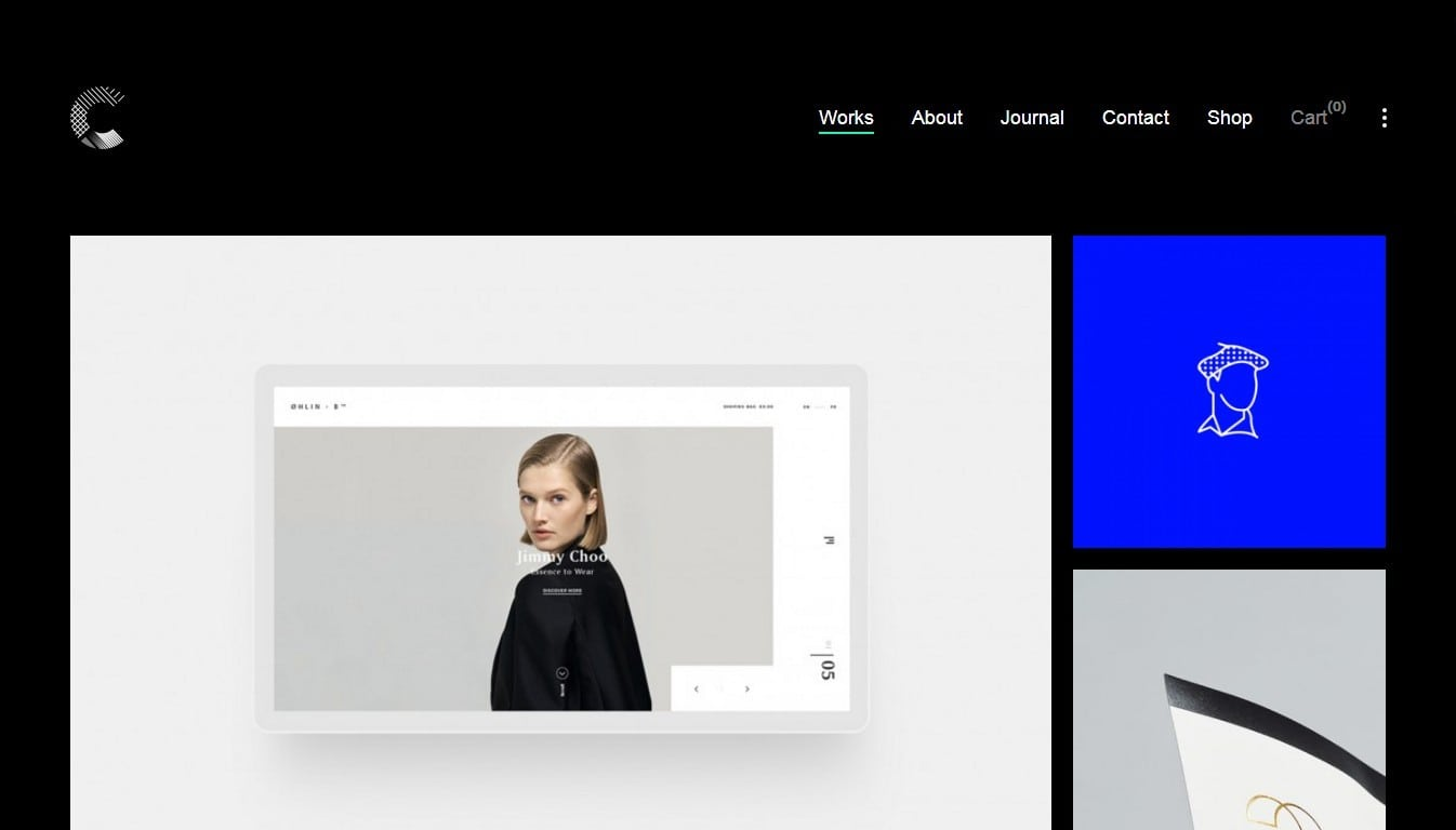 Шаблон сайта онлайн для блога, бизнеса, портфолио и каталога