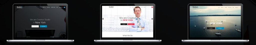 готовые верстки сайта для бизнеса, творчества, развлечений и торговли 14