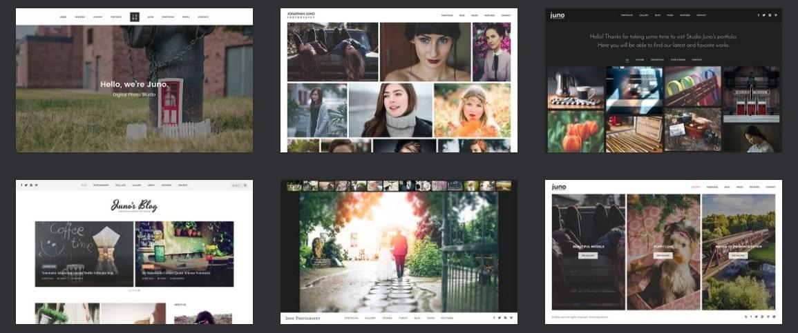 Готовые верстки сайта для бизнеса, творчества, развлечений и торговли