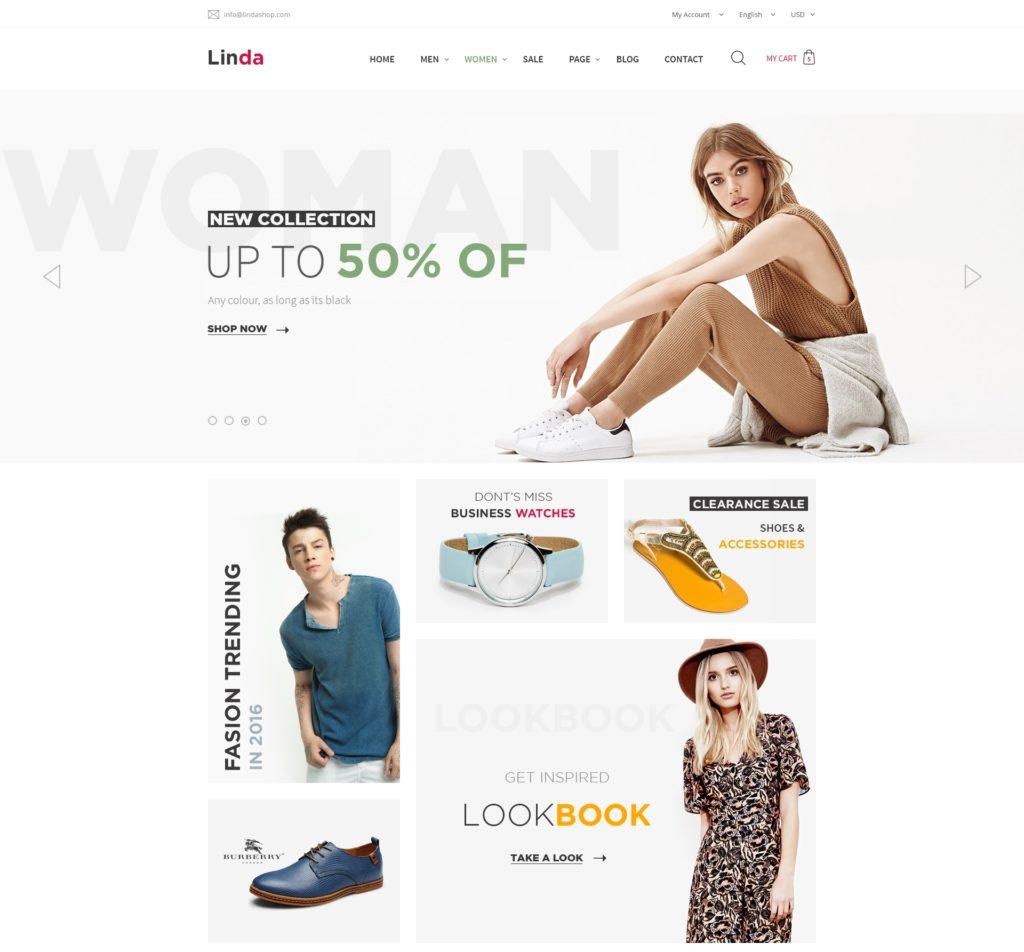 лучшие PSD макеты интернет магазинов для верстки 04
