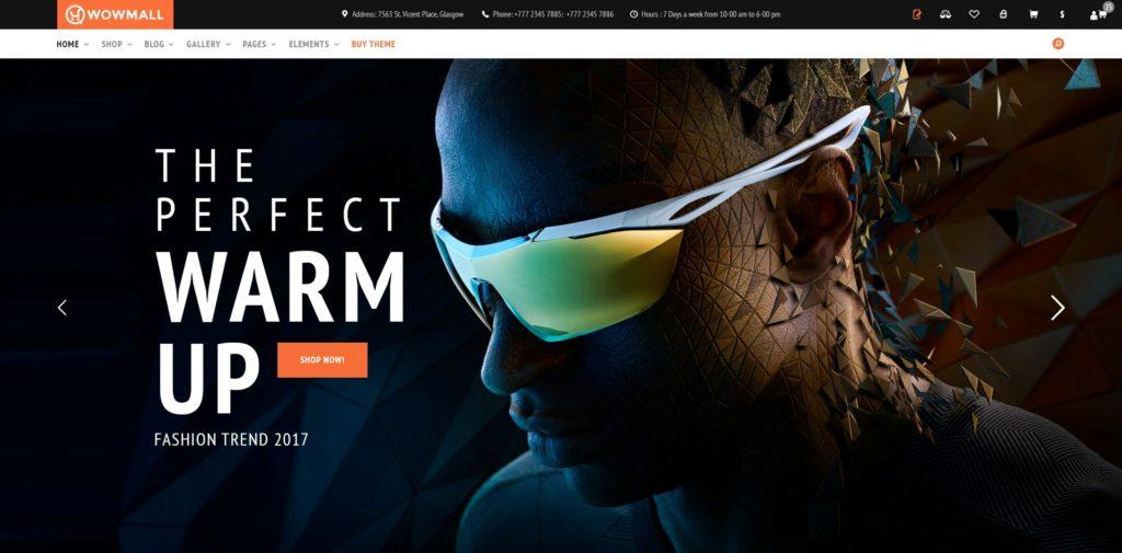лучшие PSD макеты интернет магазинов для верстки 13