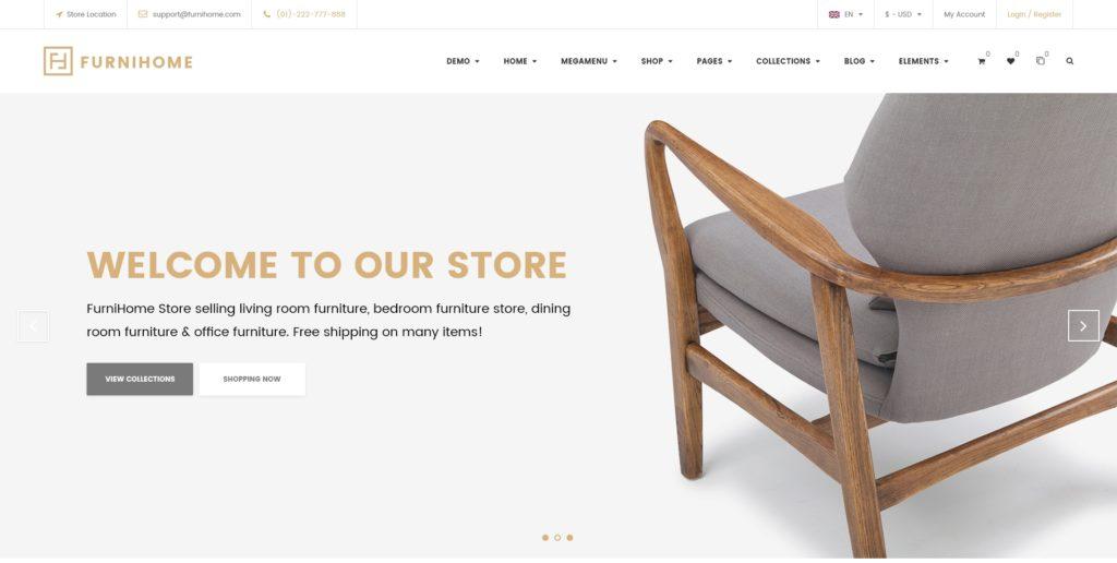 лучшие PSD макеты интернет магазинов для верстки 17