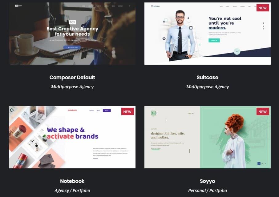 топ 20 веб шаблоны для бизнес-сайтов, блогов, магазинов и портфолио 01