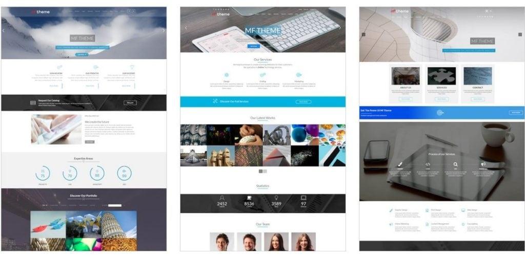 топ 20 веб шаблоны для бизнес-сайтов, блогов, магазинов и портфолио 02