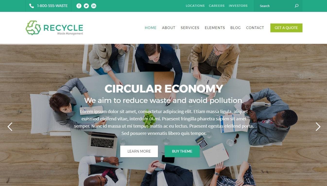 Шаблоны сайтов организации для бизнеса и благотворительности