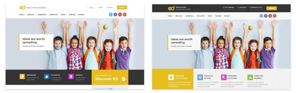 шаблон сайта для учителя с календарем и онлайн-оплатой 1