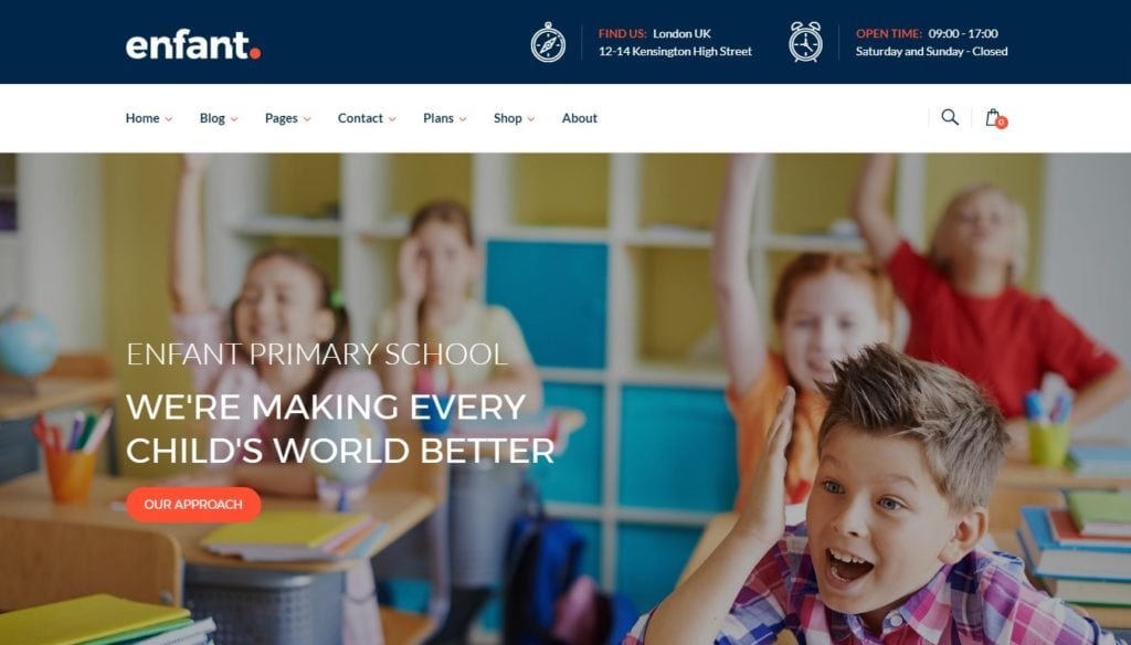 шаблон сайта для учителя с календарем и онлайн-оплатой 2