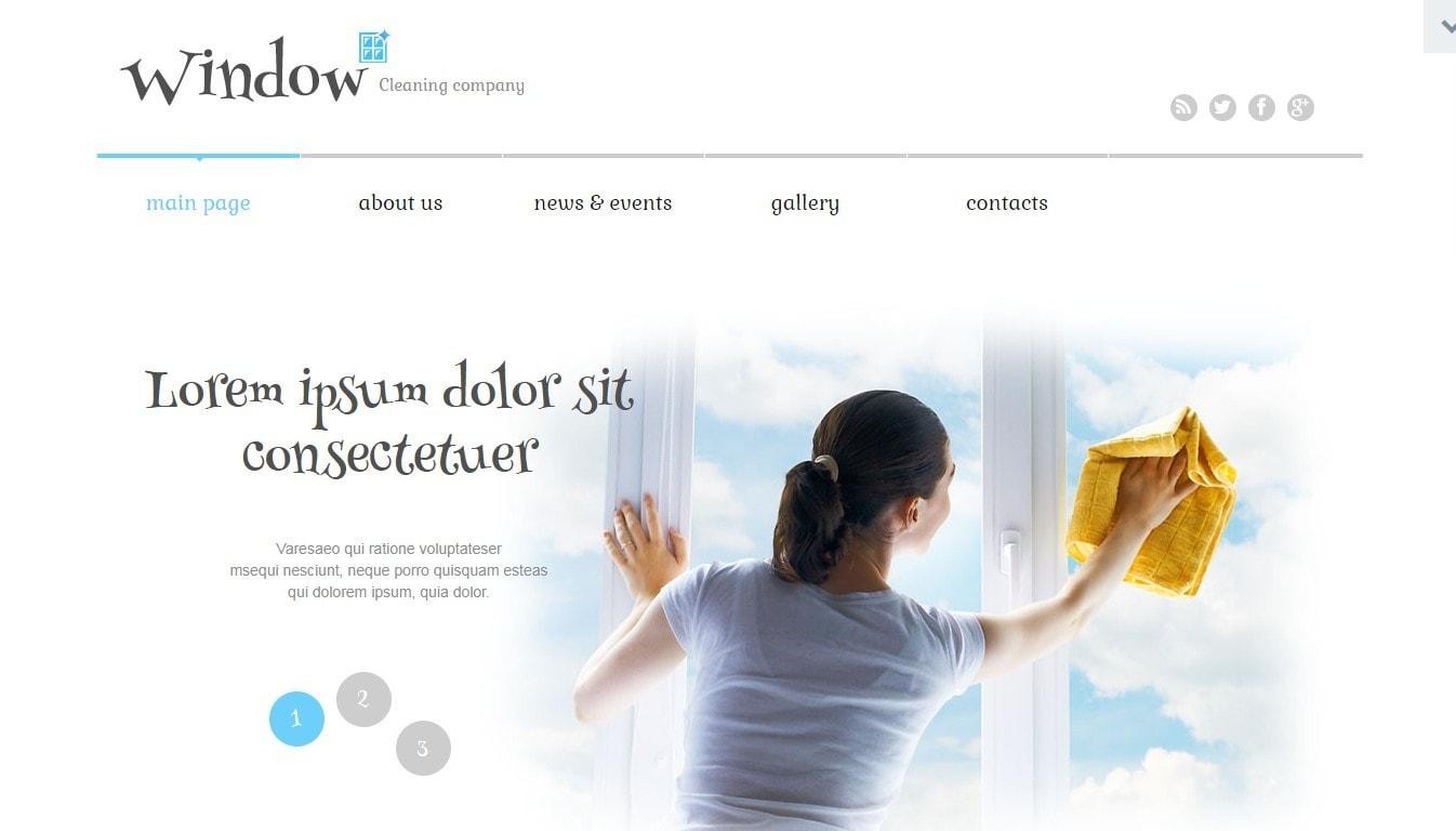 Шаблон сайта окна с премиум дизайном и онлайн-оплатой