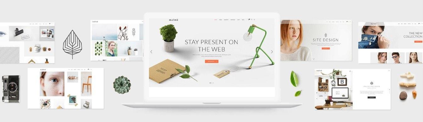 Шаблон со слайдером для привлечения клиентов