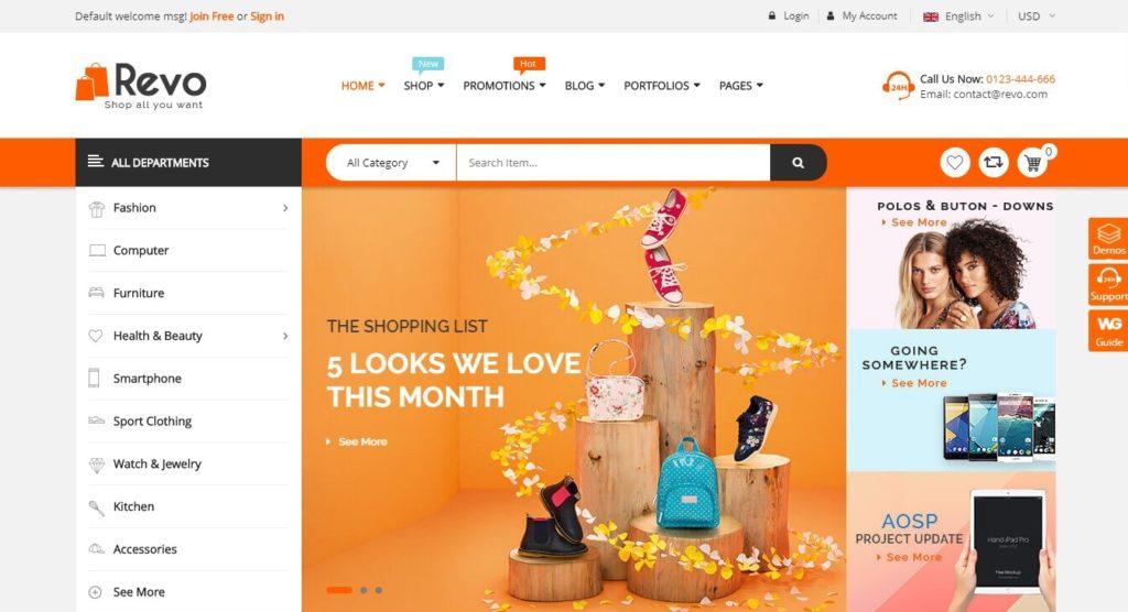 WordPress русский интернет магазин: Свежие шаблоны на 2018 год 05