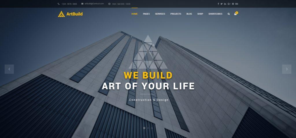 готовые макеты сайтов с премиум дизайном на все случаи жизни 01