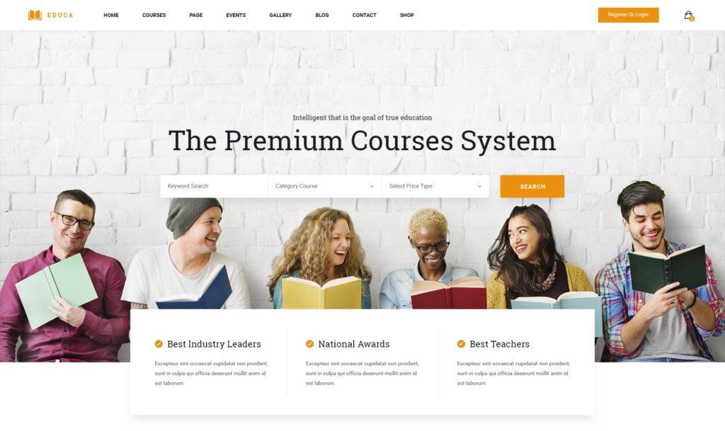 готовые макеты сайтов с премиум дизайном на все случаи жизни 09