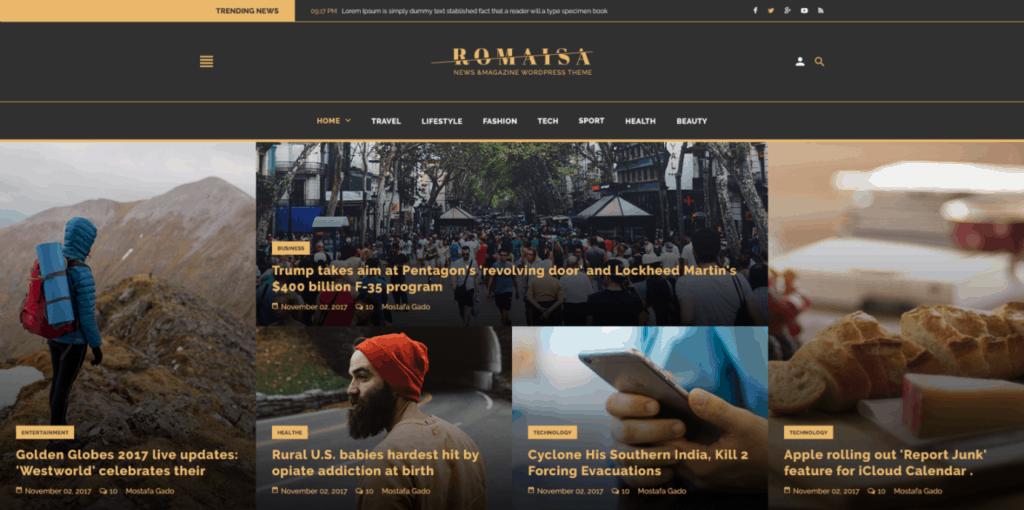 готовые макеты сайтов с премиум дизайном на все случаи жизни 14