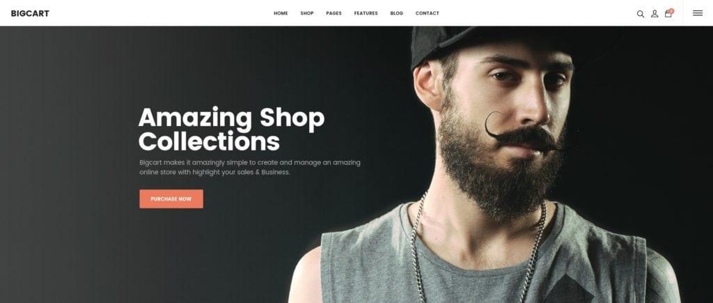 красивый макет сайта для привлечения посетителей 20
