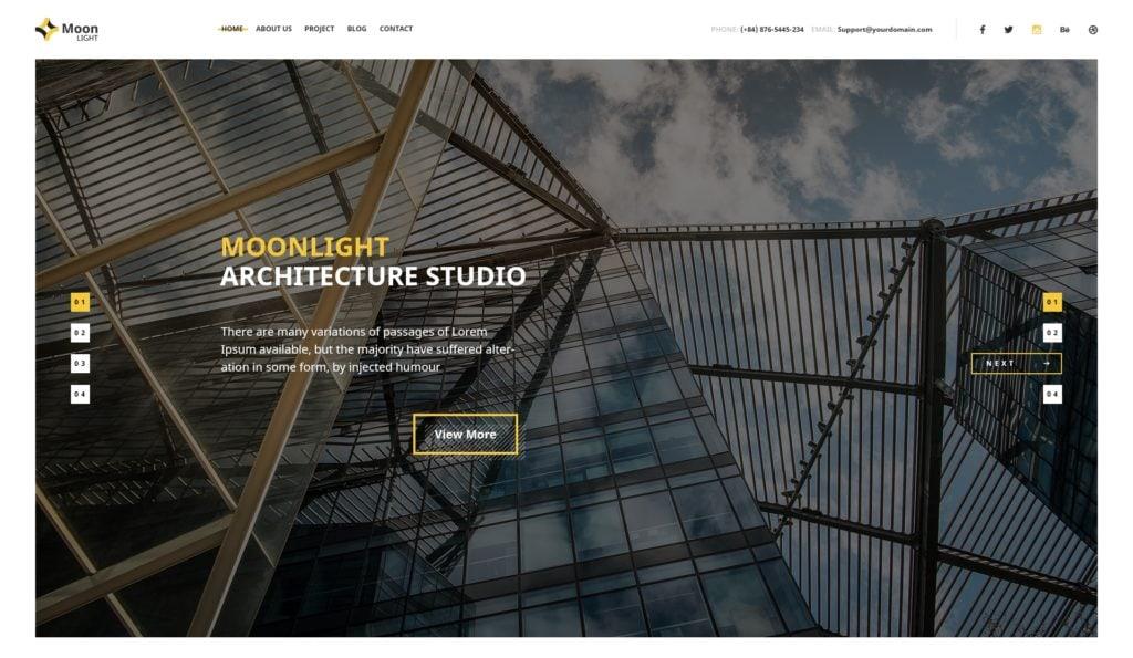 купить макет сайта с клевым дизайном и функционалом 03