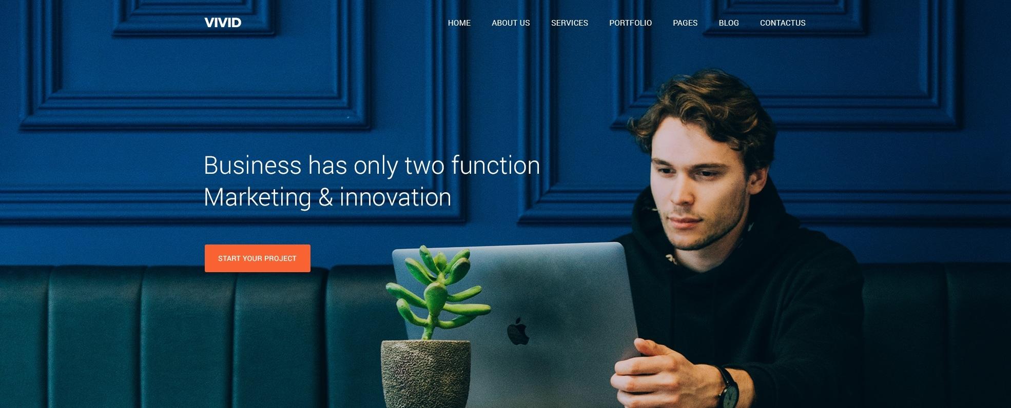Купить макет сайта с клевым дизайном и функционалом