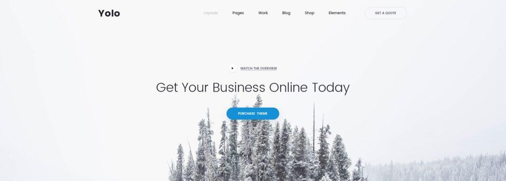 лучшие макеты сайтов с невероятно крутым оформлением 10