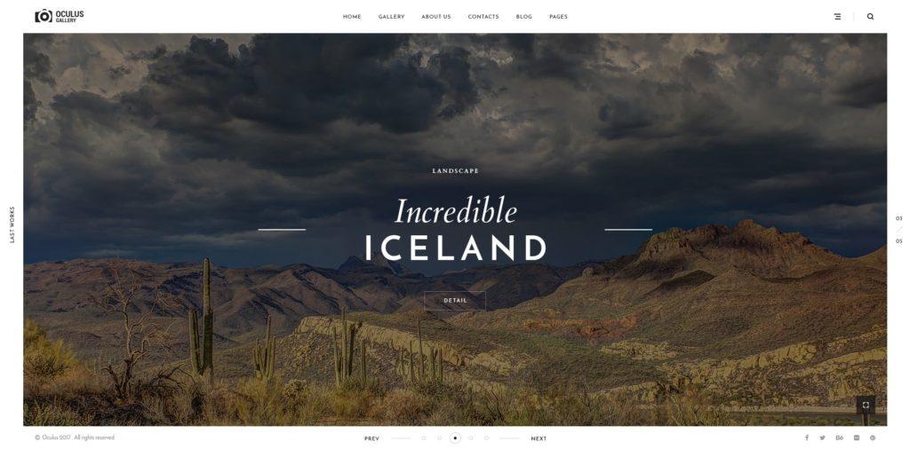 лучшие макеты сайтов с невероятно крутым оформлением 13