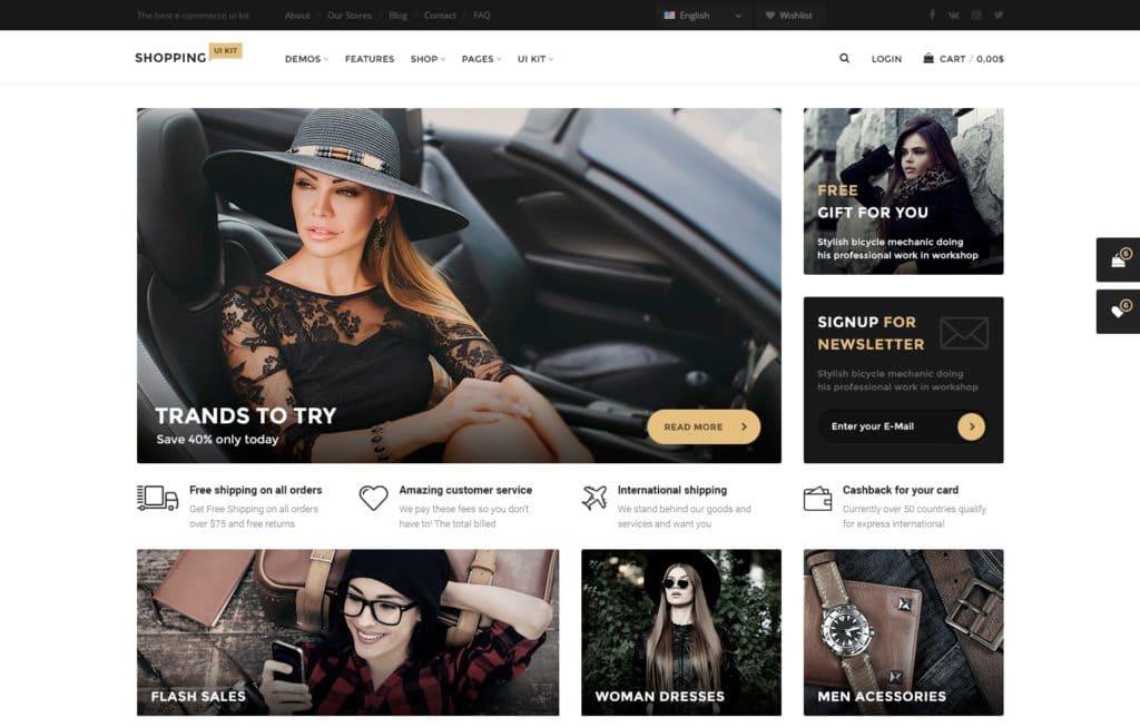 лучшие макеты сайтов с невероятно крутым оформлением 15