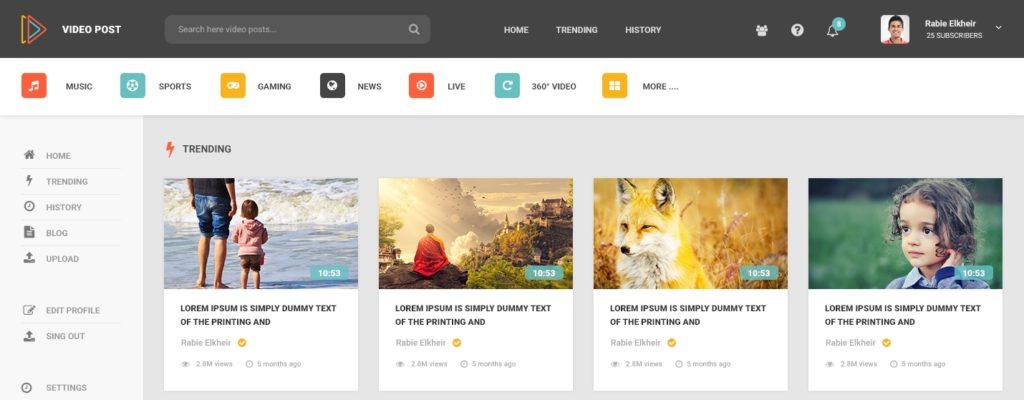 макеты сайтов HTML CSS с поддержкой полноценных версток 15
