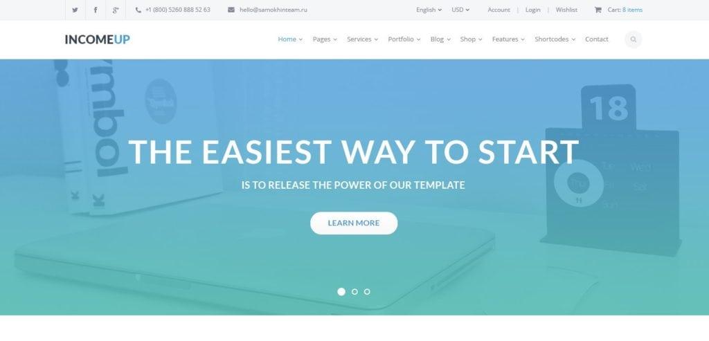 макет сайта Bootstrap для отзывчивых веб-ресурсов 03