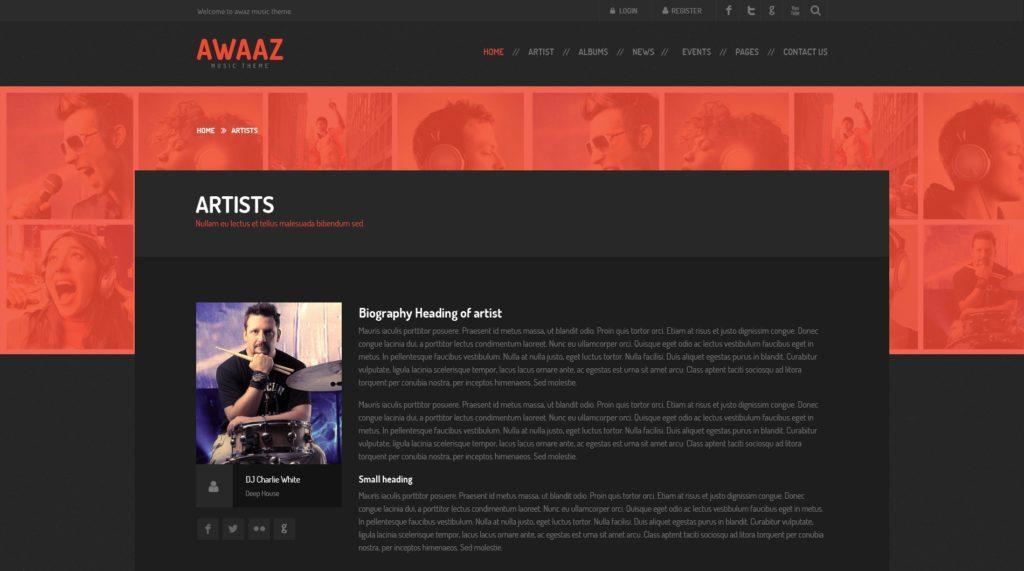 макет сайта Bootstrap для отзывчивых веб-ресурсов 18