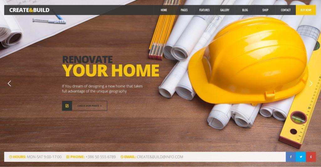 макет строительного сайта для серьезного бизнеса 08