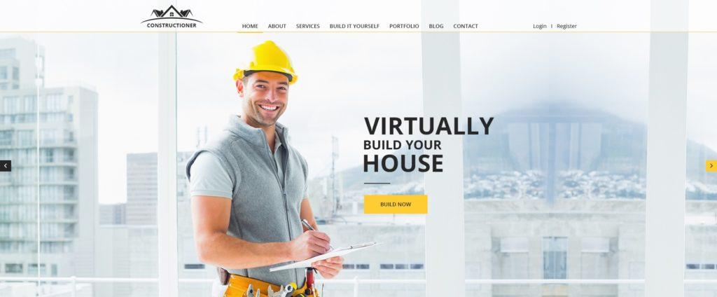 макет строительного сайта для серьезного бизнеса 09