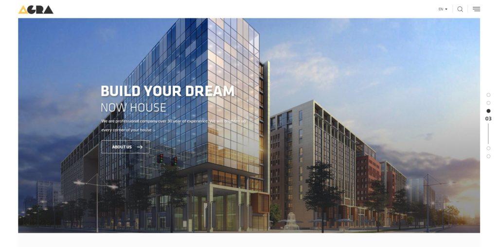 макет строительного сайта для серьезного бизнеса 13