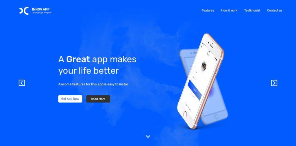 резиновый макет сайта: готовая концепция мобильного сайта 12