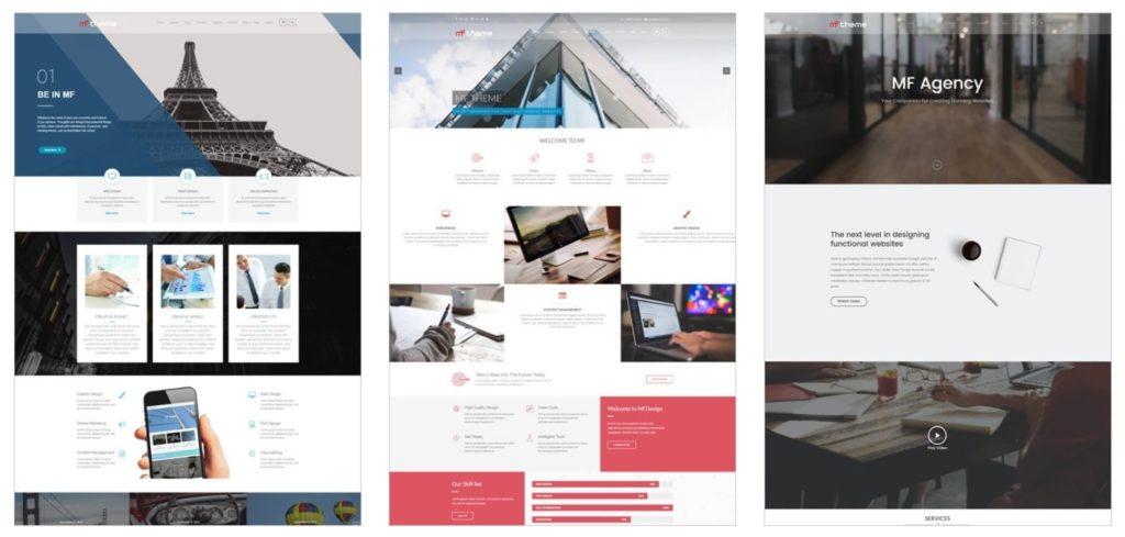 сделать новый сайт бесплатно с использованием готового шаблона 03