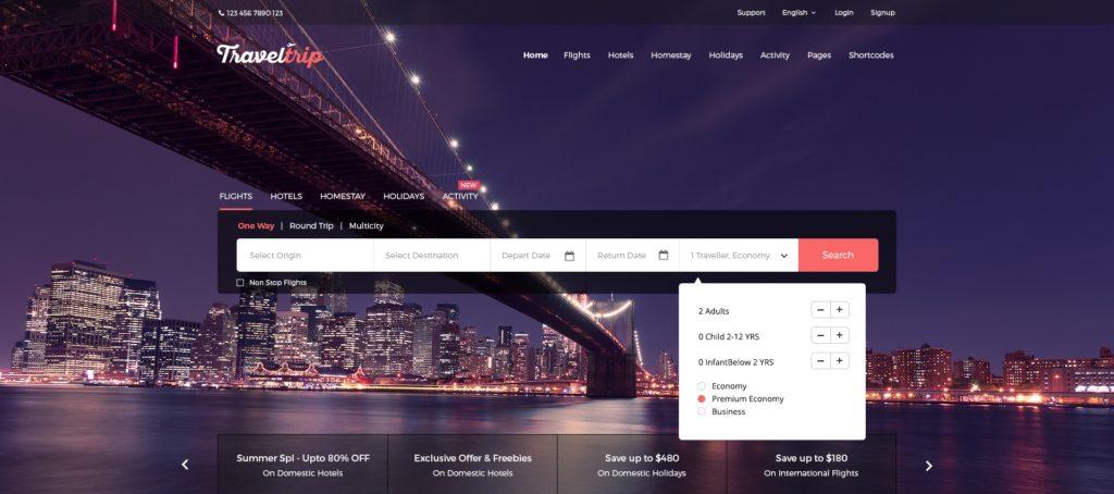 современные макеты сайтов с оформлением высшего класса 09
