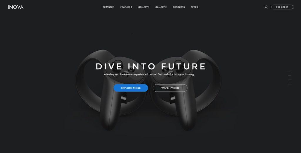 современные макеты сайтов с оформлением высшего класса 14