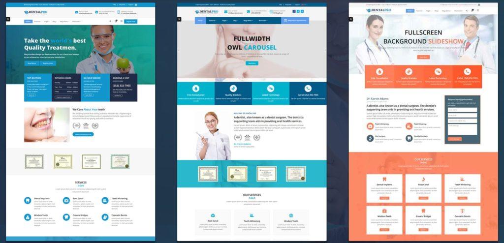 адаптивные шаблоны медицина HTML с онлайн-формой записи 14