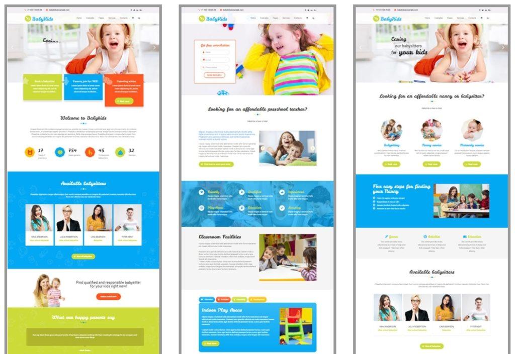 детские темы WordPress для школ, детских садов, центров и магазинов 05