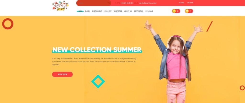 детские темы WordPress для школ, детских садов, центров и магазинов 09
