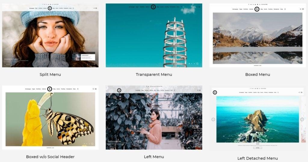 интересные шаблоны WordPress с десятками вариантов оформления 08