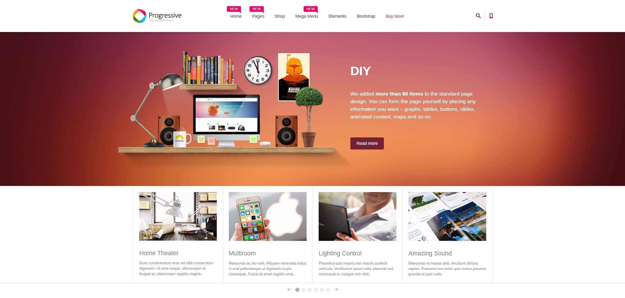 Корпоративные шаблоны HTML: Веб-решение под любую платформу
