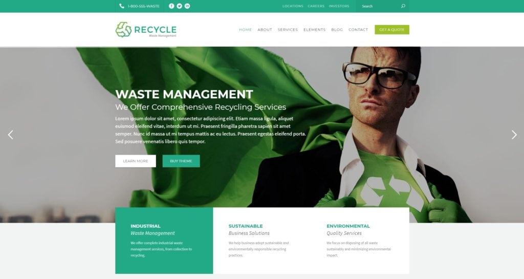 сайт экологической организации на WordPress с функцией сбора средств 08