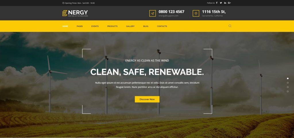 сайт экологической организации на WordPress с функцией сбора средств 09