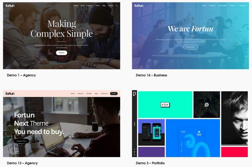 свежий обзор шаблонов WordPress с премиум дизайном 01