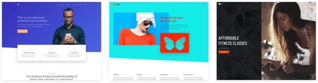 свежий обзор шаблонов WordPress с премиум дизайном 02