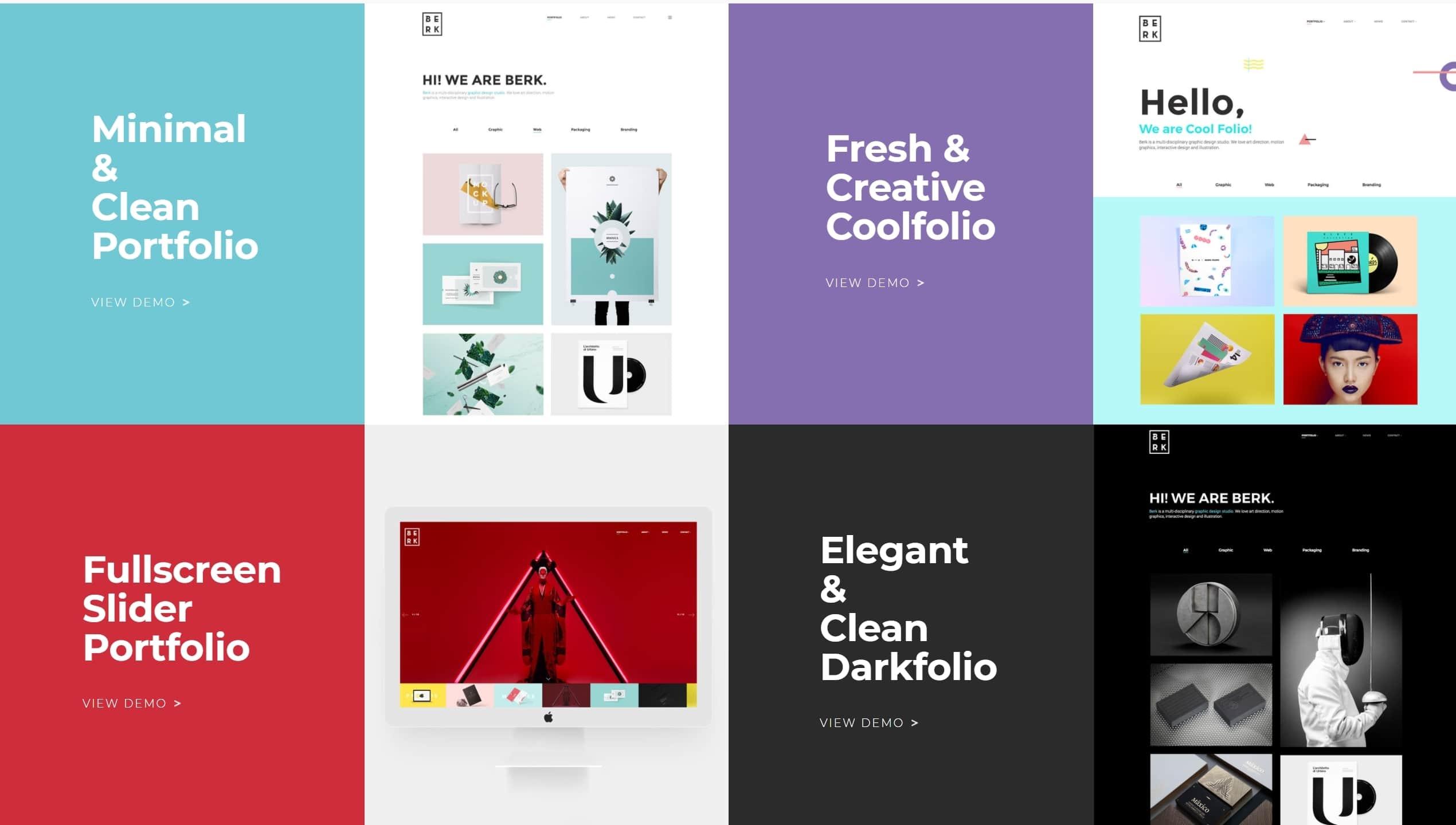 Современная верстка сайта со стильным дизайном премиум класса