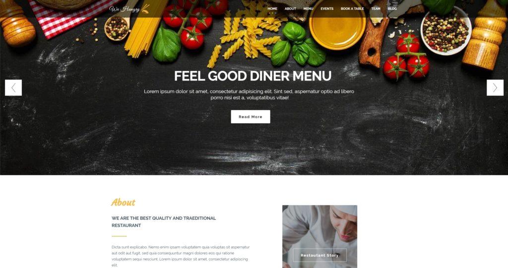 HTML шаблоны ресторан с онлайн-бронированием столиков 04